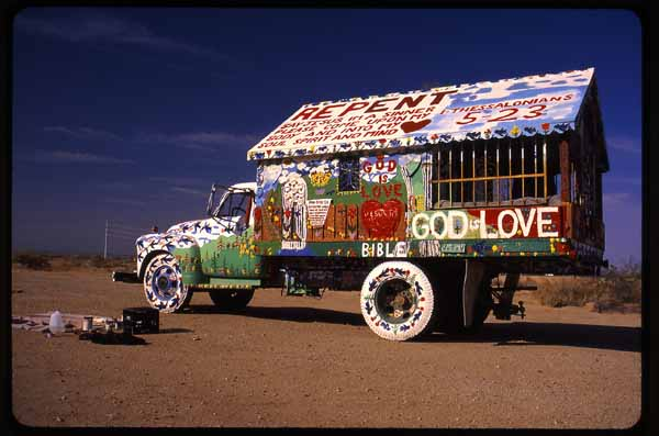 Salvation Mountain Mobile, also