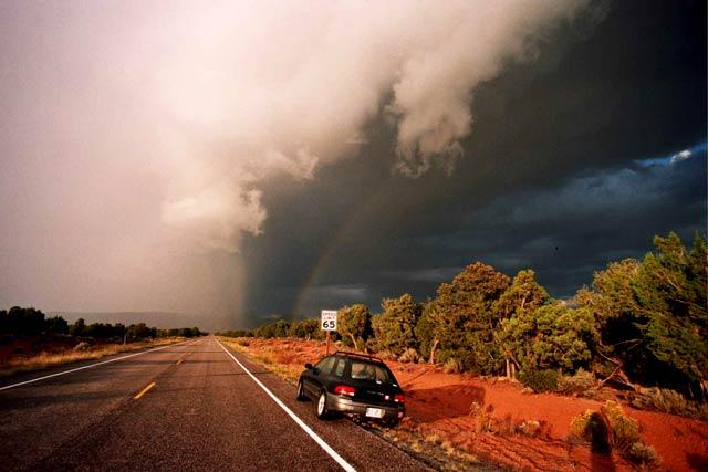 Cedar Mesa storm clearing
