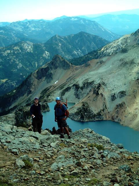 Descending southeast ridge 2 - Mt. Daniel