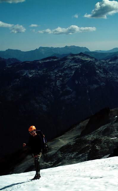Across Daniel Glacier