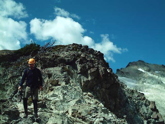 Descending southeast ridge - Mt. Daniel