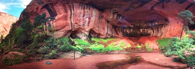 Kolob Canyon - Double Arch Alcove 1