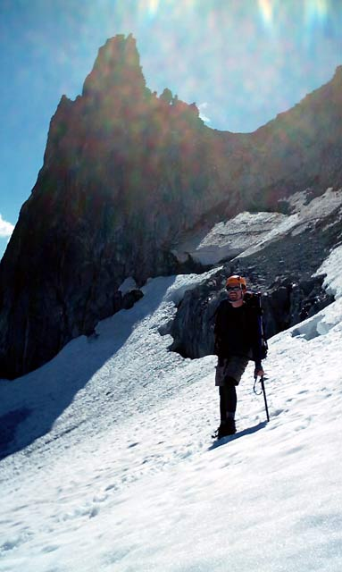 East Peak Spire - Mt. Daniel