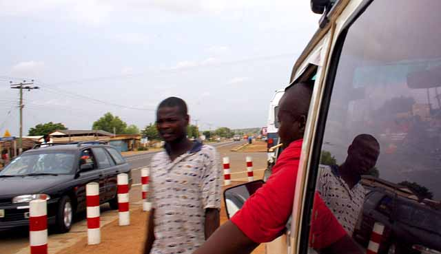 Our tro-tro headed for Accra