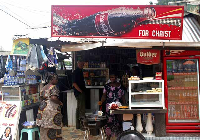 Jesus and Coca-Cola, together at last