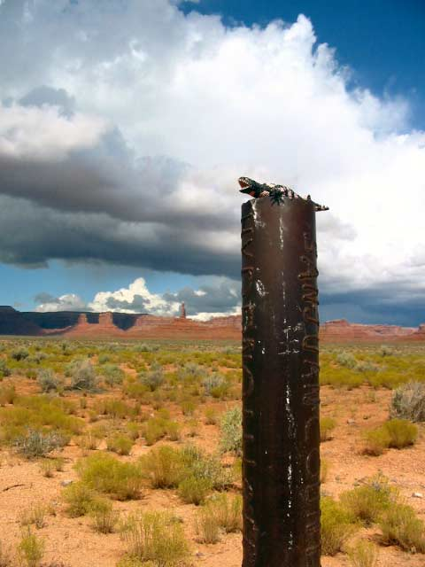 L'Rigler in the Valley of the Gods