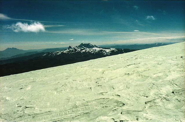 Nevado Solimana from Coropuna summit