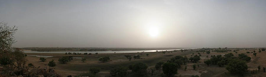 Niger river from Kirtachi bluffs