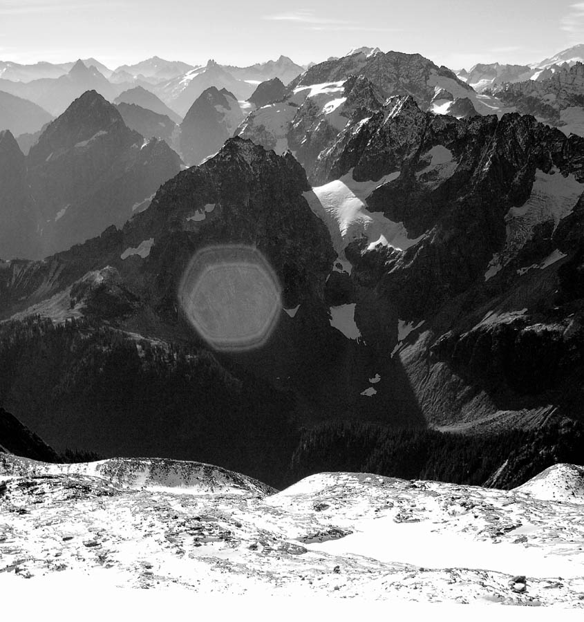 View from Sahale Glacier