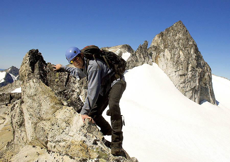 Karl on summit ridge