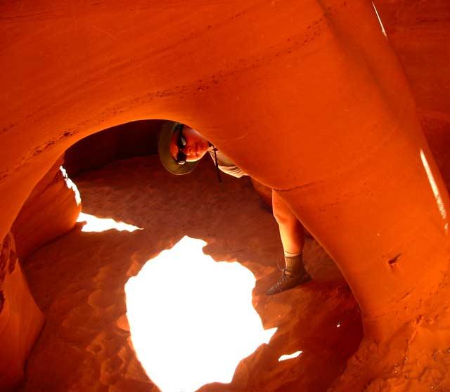 tunnel in Spooky slot