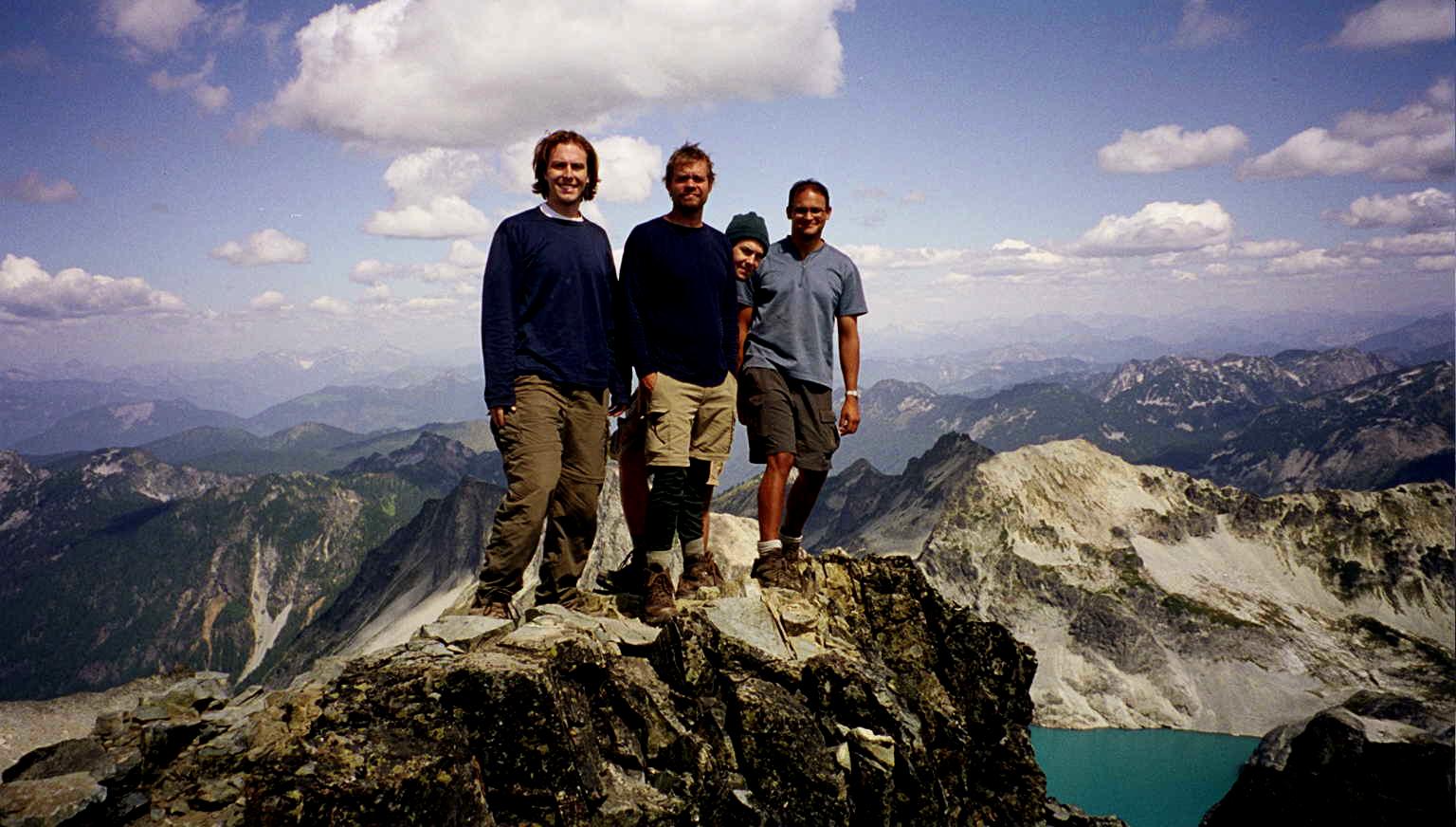 Mt. Daniel summit shot 1