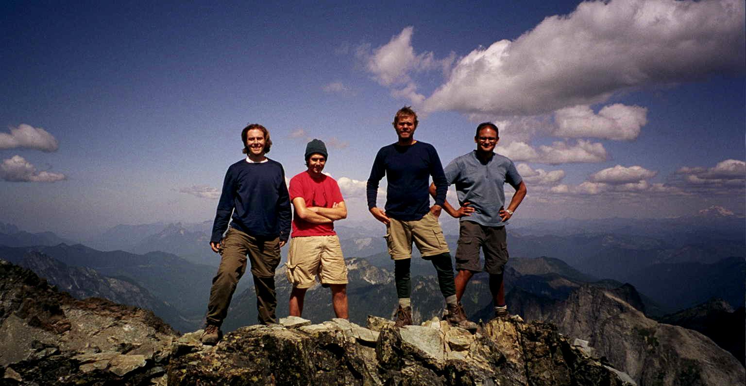 Mt. Daniel summit shot 2