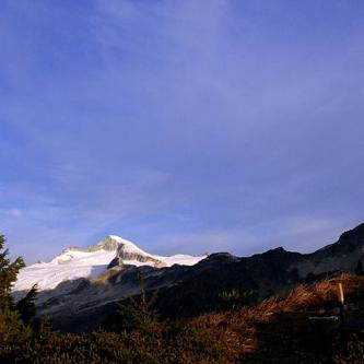 Eldorado Peak and Mt. Torment from Cascade Pass
