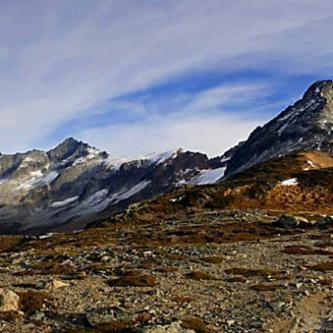 Forbidden Peak, Sahale Peak from Sahale Arm